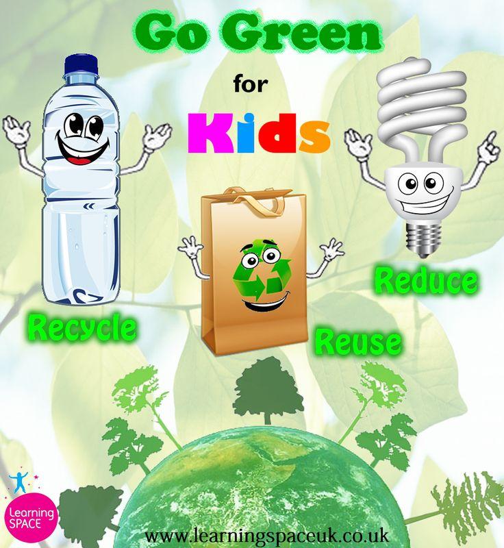 Go Green for Kids www.facebook.com/LearningSPACE www.learningspaceuk.co.uk