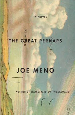 The Great Perhaps / from Killed Covers,  A Selection of Rejected Book Jackets. part of an upcoming show at the New York Times gallery. via Spine Out.: Books Covers, Books Jackets, Covers Books, Graphics Design, Covers Design, Joe Meno, Kill Covers, Book Covers, Covers Art