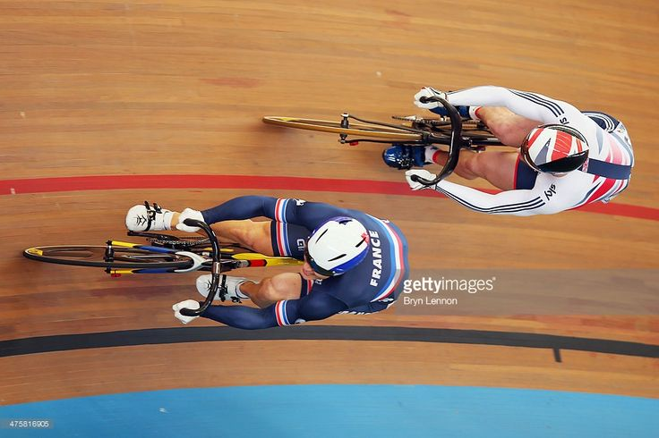 Olympic Champion Jason Kenny of Great Britain rides against Michael... News Photo | Getty Images
