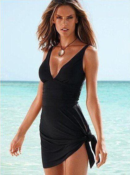 Swimwear One Piece Swimsuit Dress Bathing Suits Swimming Suit for Women Swim dress