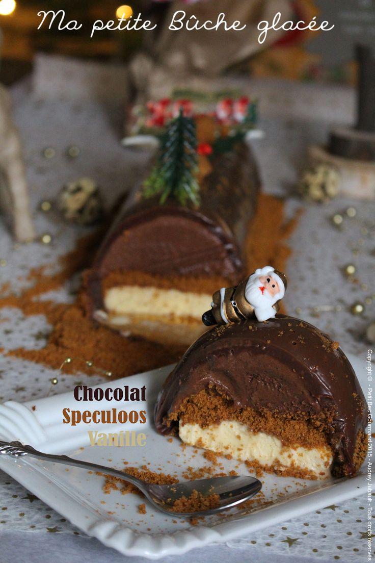 Petit Bec Gourmand: Ma petite Bûche glacée au Chocolat, Vanille & Speculoos