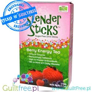 Berry Energy Slender Sticks mix ze stewią do drinków