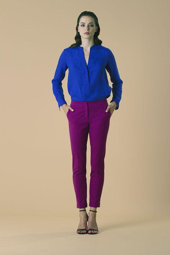 shirt Hazel pant Queen. #SS16 www.quelle2.It