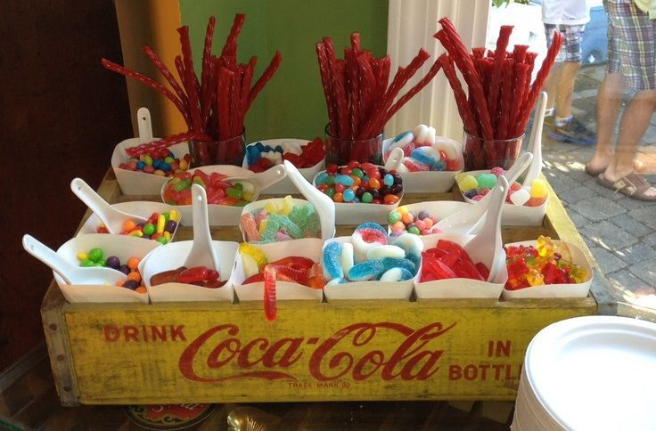 Candy display yay!!!!!