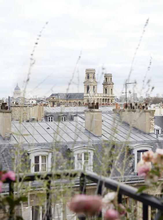 Paris rooftops. #worldtraveler