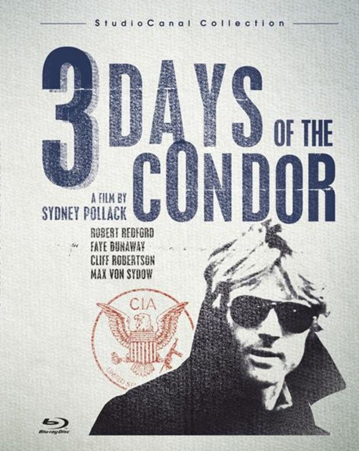 LES 3 JOURS DU CONDOR // STUDIOCANAL COLLECTION packshot