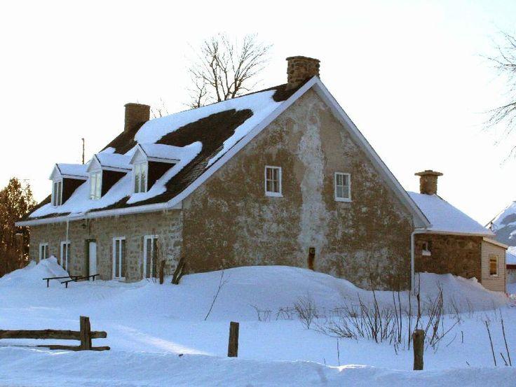 Maison québécoise, crédit : Culture et Patrimoine Deschambault-Grondines | www.acegabrielcouture.com