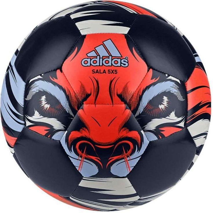 Bola Adidas FreeFootball Salão Futsal Azul / Vermelha