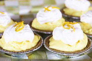 Lemon Cream No-Bake Mini Cheesecakes recipe - Recipe and Photo by Blogger, Rebecca Lindamood @Rebecca Lindamood || Foodie with Family
