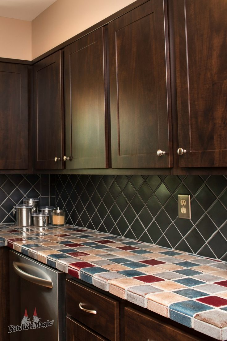Shaker Cabinets In Our Sumptuous Chocolate Pear Color Yum This And All Of Our Beautiful Kitchen Cabinets Cheap Kitchen Cabinets Kitchen Cabinet Styles