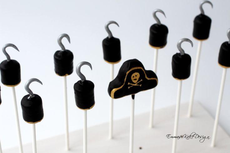 Emmas KakeDesign: Pirate cake pops! DIY tutorial www.emmaskakedesign.blogspot.com