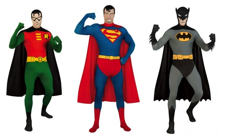 Skintight Superhero Suits Are This Year's Geeky Costume Craze