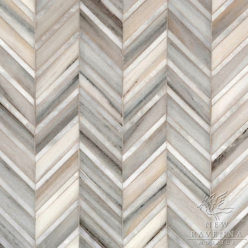New Ravenna herringbone/chevron tile pattern