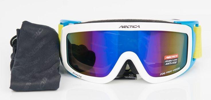Arctica G-1001 J gyerek síszemüveg    Sisak kompatibilis!    Az Arctica G-1001 J gyerek síszemüveg lencséje polikarbonátból készült. Könnyű, vékony, tartós és ütésálló. A sí- és...