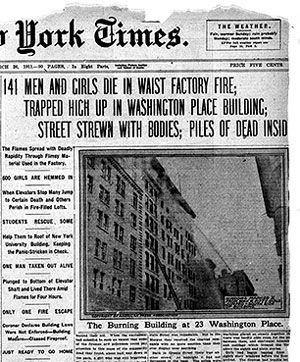 the triangle shirtwaist fire of 1911 essay By the end of 1911 this example triangle shirtwaist fire essay is published for educational and informational purposes only.