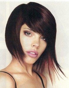 Edgy Asymmetrical Wispy Chin Length Bob Haircut....this one is tempting!!!!!