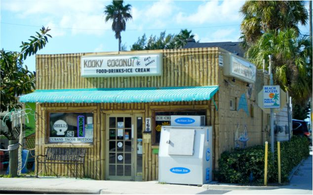 Kooky Coconut: On the beautiful barrier island of Indian Rocks Beach, there is a little bamboo-covered cafe.  Located within steps from the 8th Avenue beach access to the Gulf of Mexico, Kooky Coconut serves up delicious authentic Cuban sandwiches, fresh burritos, tacos, quesadillas, tuna salad and a variety of other beach-friendly eats. 760 Gulf Blvd. Indian Rocks Beach, FL 33785 (727) 517-1300. #KookyCoconut  #Cafe #IndianRocksBeach #Florida #BeachCondo #SecondHome…