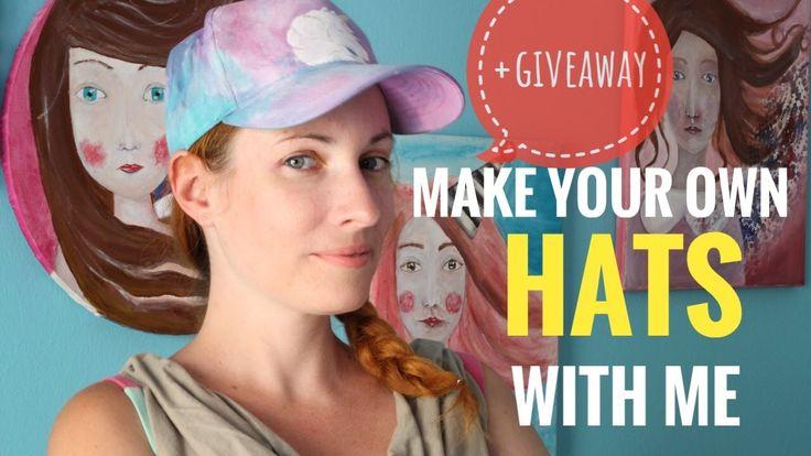 Πώς να φτιάξετε τα δικά σας Χειροποίητα Καπέλα +GIVEAWAY - Unicorn Hat -...