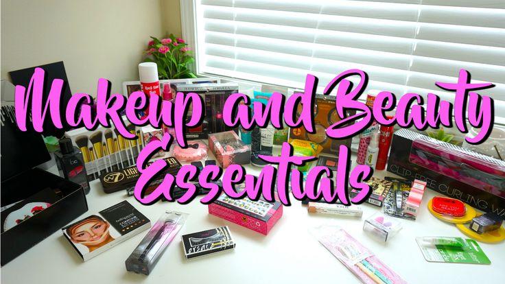 Makeup & Beauty Essentials PLUS GIVEAWAY!!