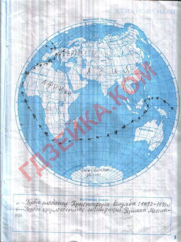 Ходова гдз по география тетрадь класс 7 гдз практикум