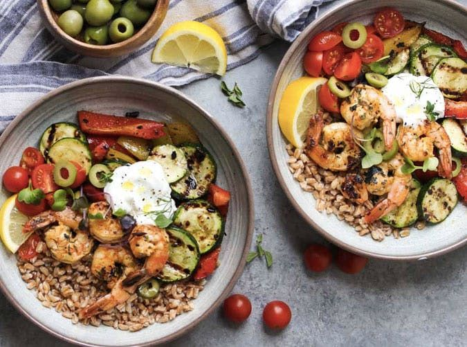3-Ingredient Mediterranean Salad