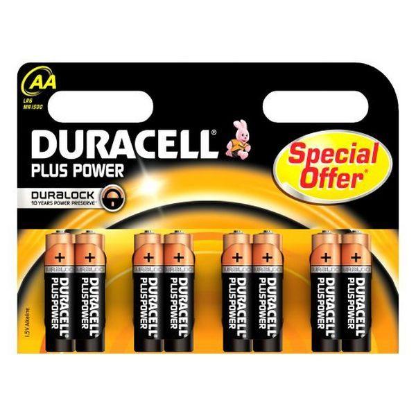 Super Offer Alkaline Batteries Duracell Plus Power Durlr6p8b Lr6 Aa 1 5v 8 Pcs Discount Price 5 98 Alk Duracell Alkaline Battery Batteries