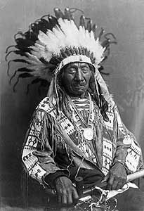Chief Red Cloud (1822 – December 10, 1909) was a war leader and a chief of the Oglala Lakota (Sioux).