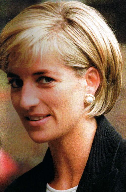 Diana, Princess of Wales in 1997, the year she died