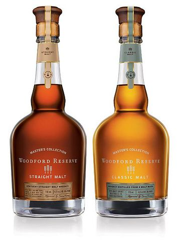 Woodford Reserve Master's Collection whiskies