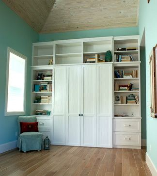Murphy Bed - traditional - home office - miami - Tracy Tyler Designs