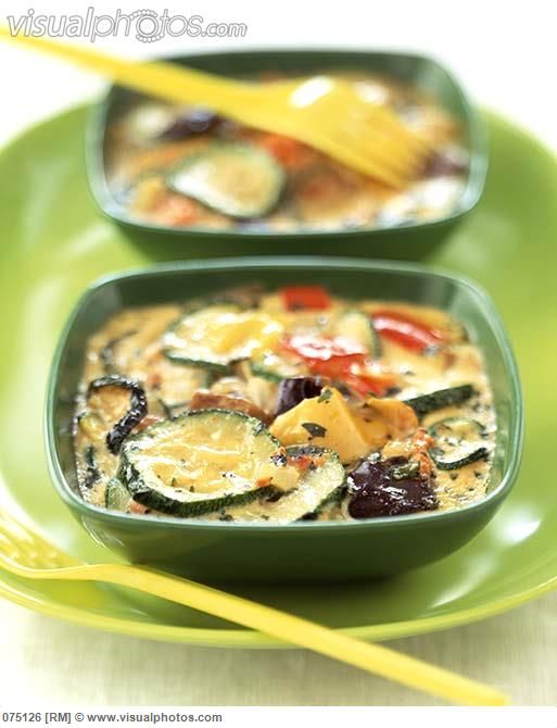 Vegetable timbale!