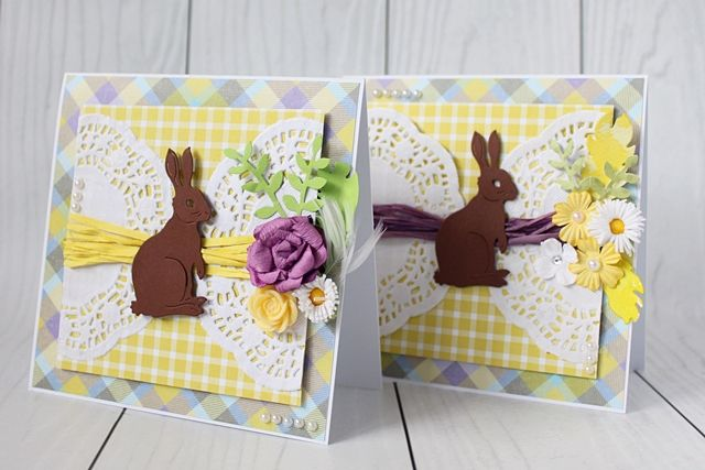 Easter handmade card; Wesołego Alleluja!
