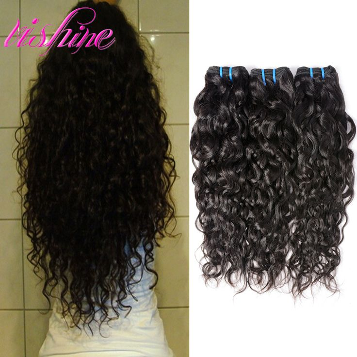 Peruvian Virgin Hair Water Wave Peruvian Curly Weave Human Hair Extensions Ocean Wave 3 Bundles Unprocessed Natural Wave Hair