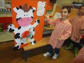 Alejandro Fernández y su familia como ya nos tienen acostumbrados desde el curso pasado, nos han traido un montón de cosas de las vacas y...