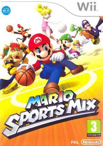 Mario Sports Mix  WII NUOVO!!!