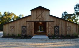 Union Springs wedding and event venue in East Texas.