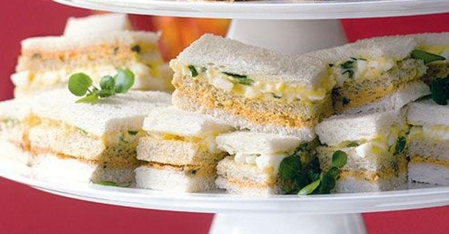 95 best images about recettes ap ro tea sandwichs on for Club sandwich fillings for high tea