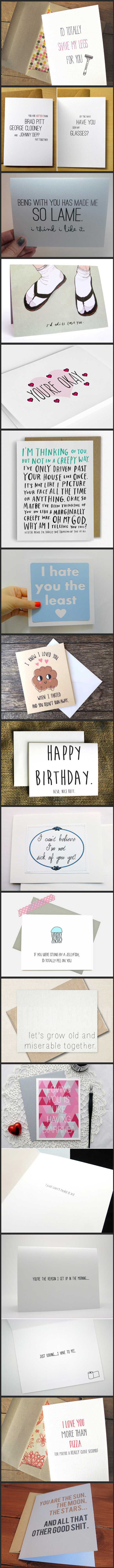 Perfectly romantic greeting cards