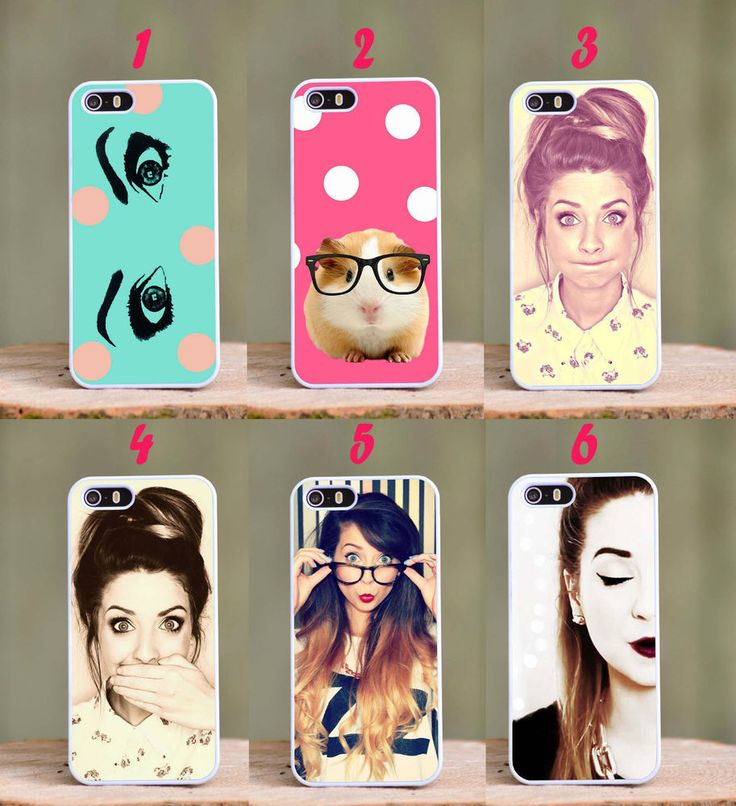 Zoella Fashion Cute Plastic Phone Cover Case fits Apple Iphone 4 4s 5 5s 5c 6 in Mobile Phones & Communication | eBay