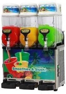 36L Triple Slushie Machines From Castle Capers Jumping Castle Hire check out all the details at http://www.castlecapers.com.au