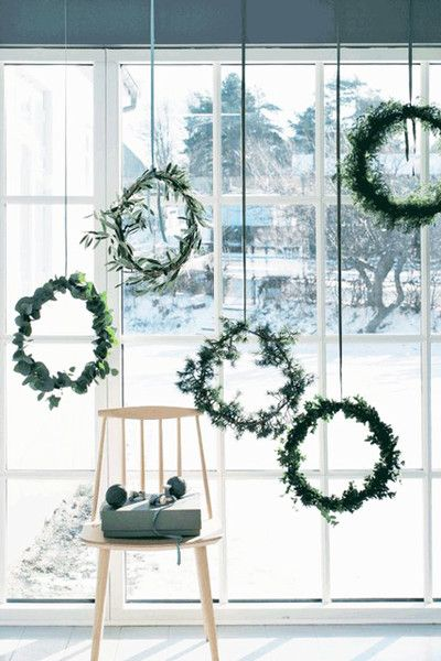 What A Window - The Best Holiday Decor From Pinterest - Photos