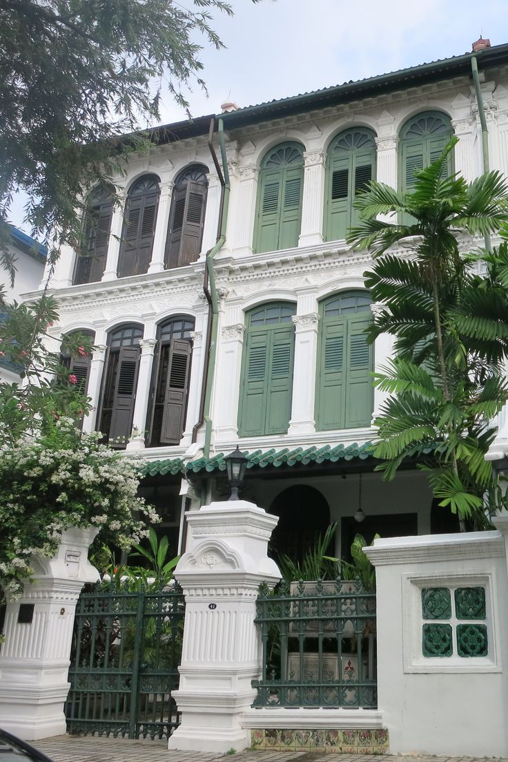 more pretty colonial houses in Singapore