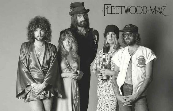 A great poster of Fleetwood Mac - Lindsey Buckingham, Stevie Nicks, Mick Fleetwood, Christine McVie, and John McVie. Ships fast. 11x17 inches. Need Poster Mounts..?