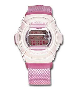 casio Baby-G Shock Resistant  Baby-G Shock Resistant Watch.  http://www.comparestoreprices.co.uk/ladies-watches/casio-baby-g-shock-resistant.asp