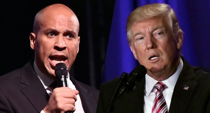 """Sen. Cory Booker accused President Trump of repeatedly lying to the American people and using propaganda to stir confusion and mislead the public. In a Thursday night interview, Booker said the president """"needs to be called on it."""""""
