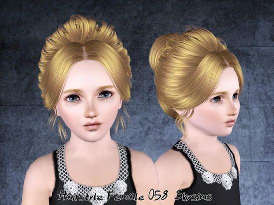 Weibliche Frisur Fur Kinder Gefunden In Der Tsr Kategorie 39 Weibliche Sims 3 Frisuren 39 Sjov Kat Kinder Frisuren Kinderfrisuren Weibliche Frisuren