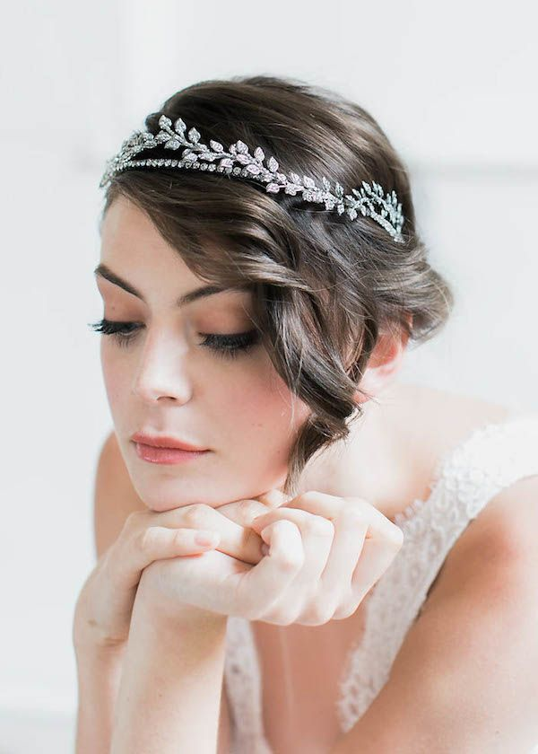 THALIA | Crystal Wedding Crown