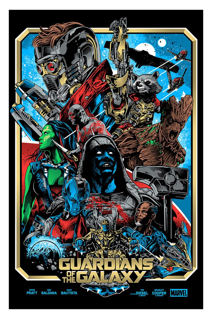 """Guardians of the Galaxy"" by Alexander Iaccarino"