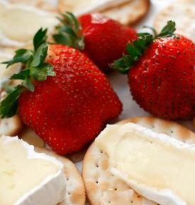 Strawberries & Brie