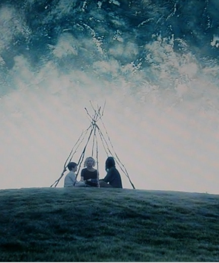 Melancholia. Clare: The planet Melancholia is going to crash into Earth. John: No it's not. Stop Googling things. Justine: We're all going to die. I know stuff. John: Oh, wait, yes it is. I'll just go kill myself.  It does. Everyone in the universe dies.